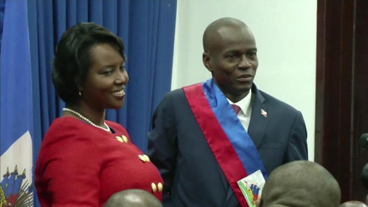 Вдова убитого президента Гаити поблагодарила лечащих врачей за медпомощь