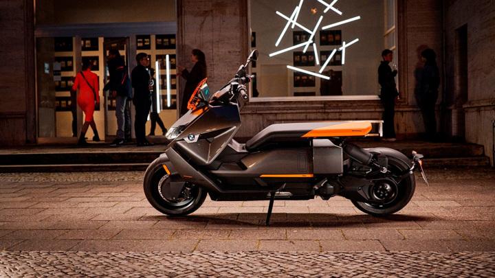 BMW выпустила электрический скутер с запасом хода 130 километров
