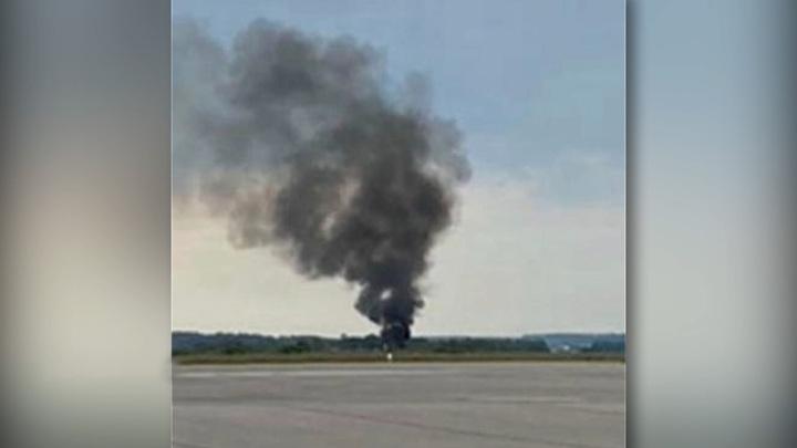 В Швеции потерпел крушение самолет с парашютистами на борту