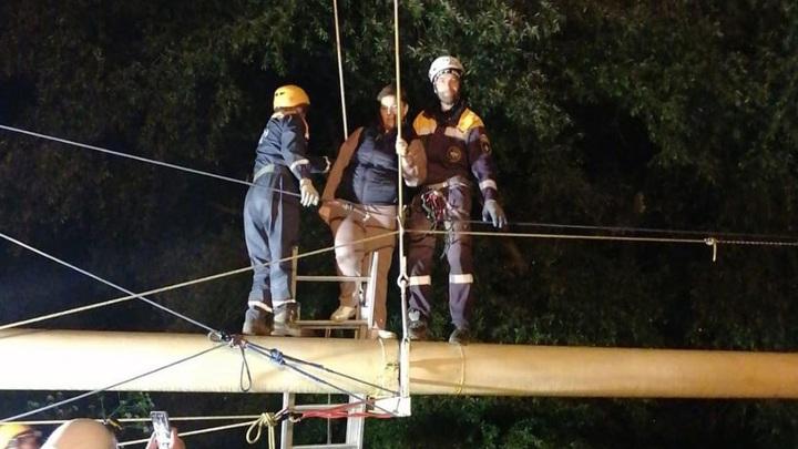 Спасатели эвакуировали 45 туристов, застрявших в горах Карачаево-Черкесии