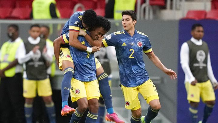 Сборная Колумбии обыграла Перу в матче за бронзу Кубка Америки