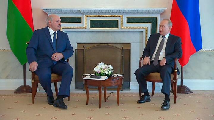 Путин назвал Белоруссию надежным и стабильным партнером