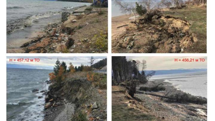 Повышение уровня воды в Байкале грозит затоплением населенных пунктов