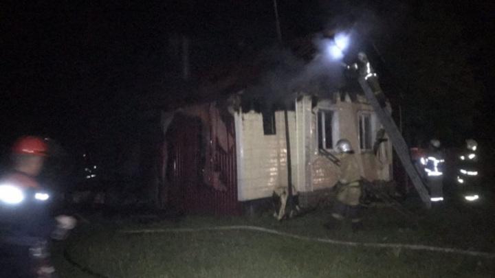 В Нижегородской области в пожаре погибли мужчина и женщина