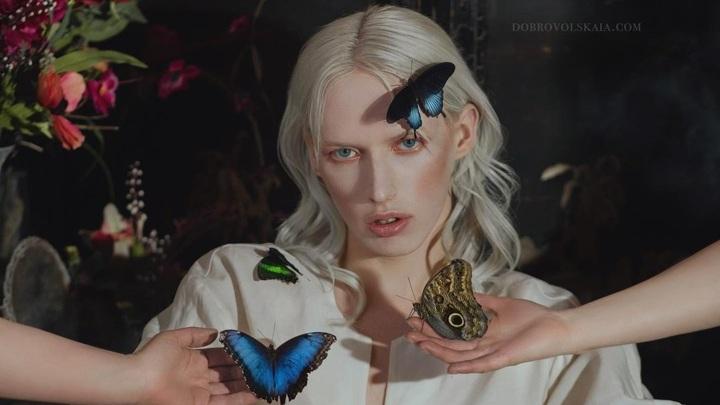 Андрогин из деревни в Самарской области попал на обложку Vogue Italia