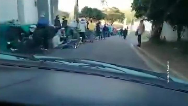 ЮАР: беспорядки и грабежи оставили людей без еды