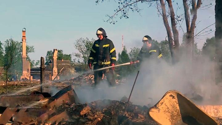 Из населенных пунктов Карелии из-за природных пожаров эвакуированы 600 человек