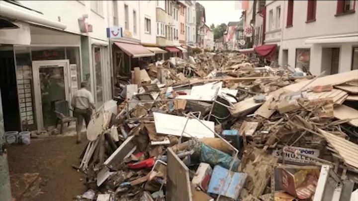 """""""Наводнение века"""" в Европе: затоплены Германия, Италия, Польша"""