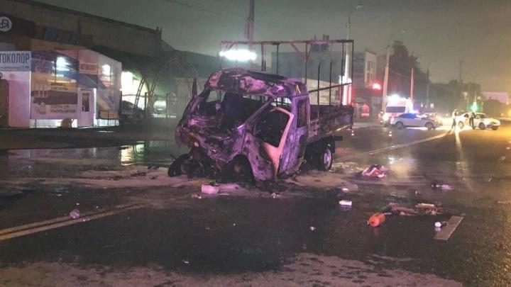 Два человека сгорели заживо в Тюмени по вине пьяного водителя без прав