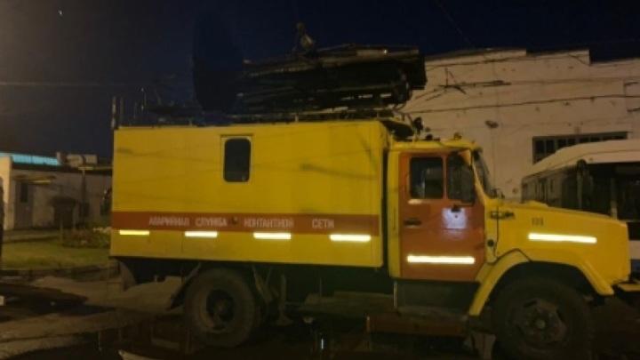 Ударом тока: в Чебоксарах умер работник троллейбусного управления