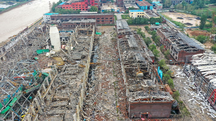 Затопленная Хэнань: число жертв возросло до 51