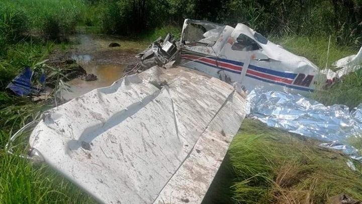 Два человека погибли при падении самолета под Хабаровском