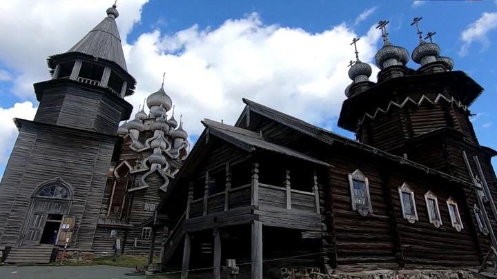 ВКижах после реставрации открыли Церковь Преображения Господня