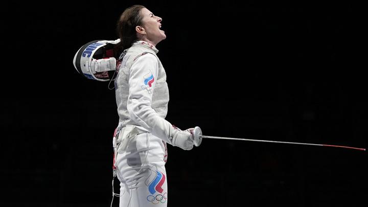 Российская рапиристка Дериглазова завоевала серебо на Олимпиаде