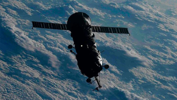"""Модуль """"Пирс"""" икосмический корабль """"Прогресс"""" успешно затоплены вТихом океане"""