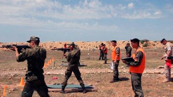 Армейский корпус ЧФ провел боевые стрельбы на полигонах Крыма