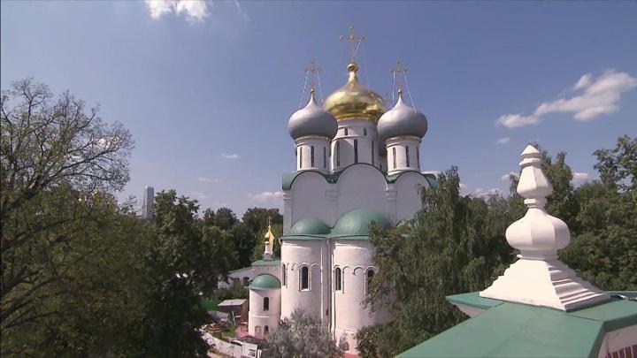 Продолжается реставрация Новодевичьего монастыря