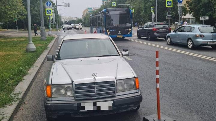 Подросток без прав устроил ДТП с автобусом в Зеленограде