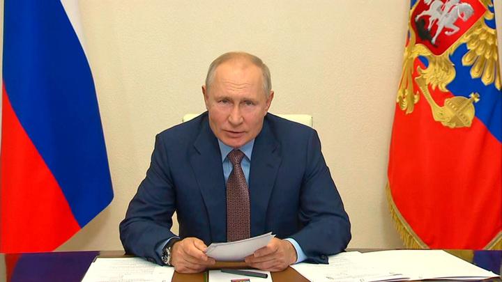 Путин собрал Совбез по ситуации в Афганистане