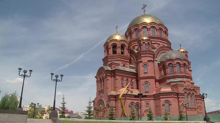 Собор Александра Невского в Волгограде готовится к открытию