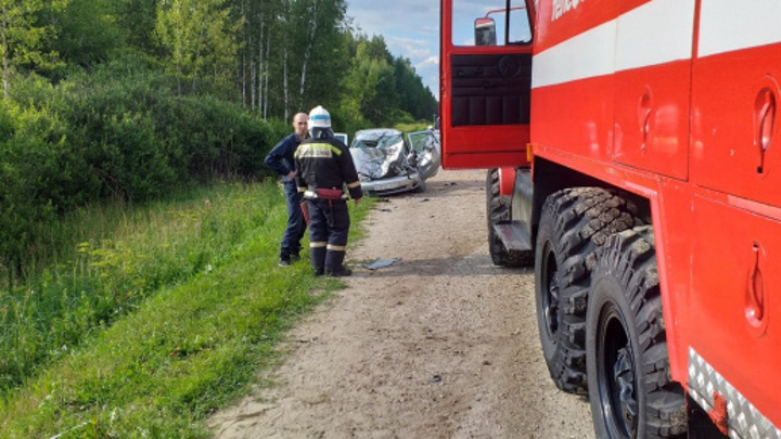 Три человека погибли в аварии в Нижегородской области