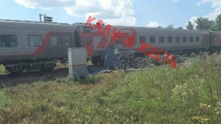 Под Калугой произошло фатальное ДТП с поездом Адлер – Москва