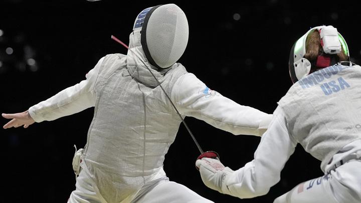 Рапиристы команды ОКР – в финале Олимпиады