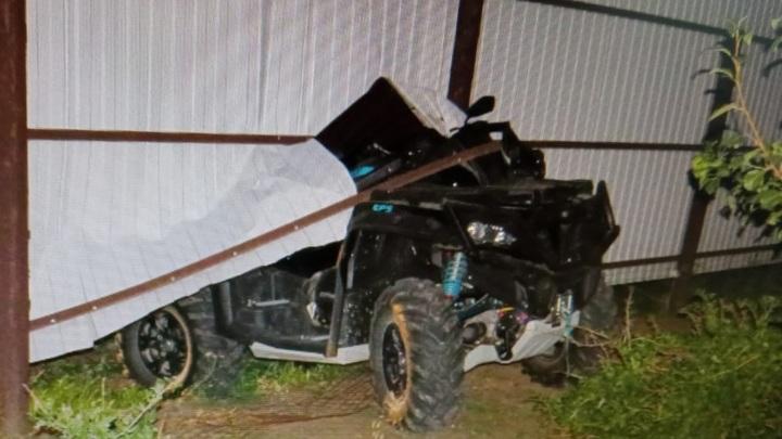 В Татарстане 12-летняя девочка насмерть разбилась на квадроцикле