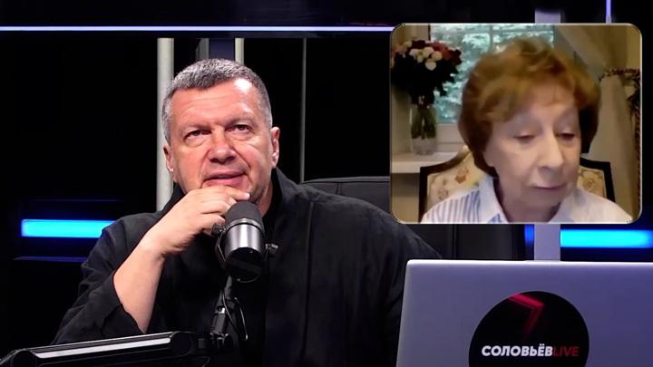 Соловьев спросил Ахеджакову, за что она так не любит советскую власть