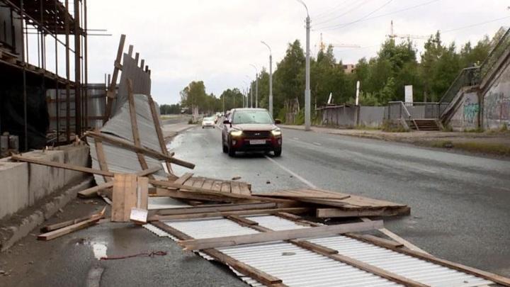 Причиной штормового ветра в Архангельской области стал активный циклон
