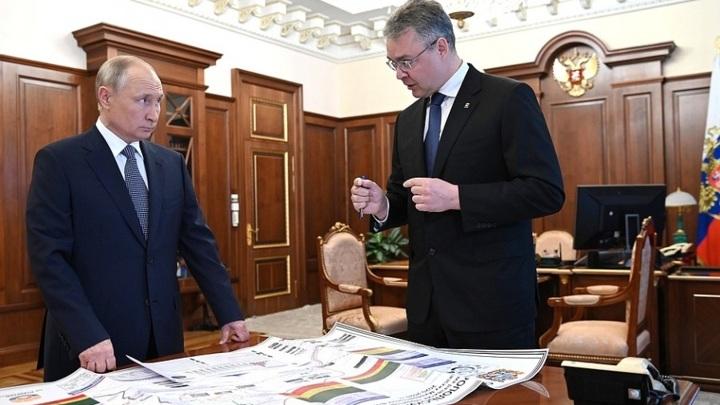 Глава Ставрополья представил Путину проект автомагистрали Кавминводы – Сочи