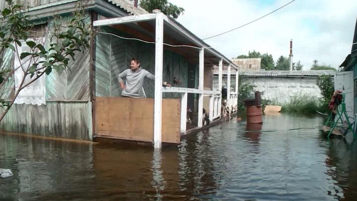 Около 140 домов подтопило в Комсомольске-на-Амуре