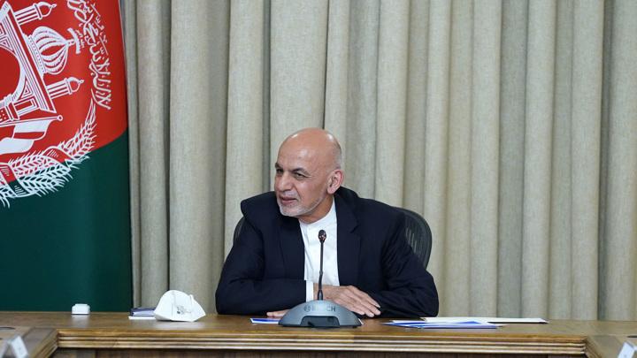 Президент Афганистана находится в Омане