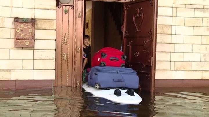 В Краснодарском крае подтоплены почти 850 частных домов
