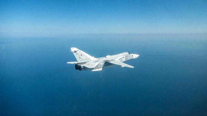 Российский бомбардировщик замечен у границ Румынии
