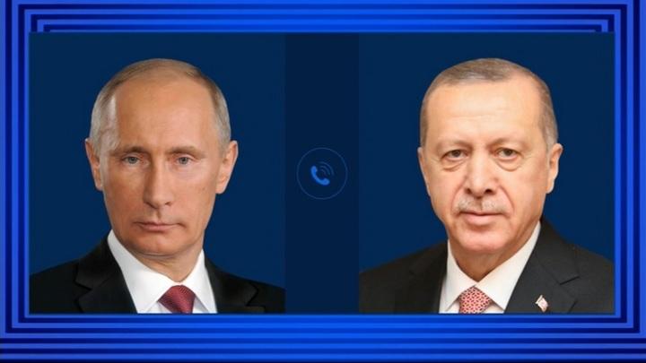 Кремль подтвердил планы встречи Путина и Эрдогана в России