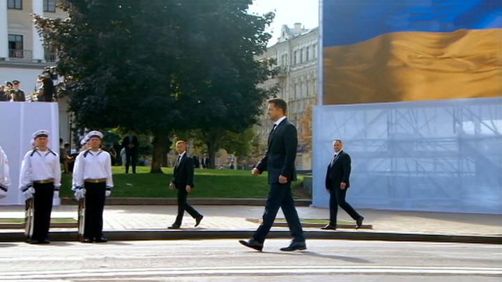 Новое шоу Зеленского: Украина встретила 30 лет незалежности