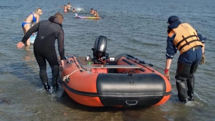 В Челябинской области на дне озера нашли скелет человека