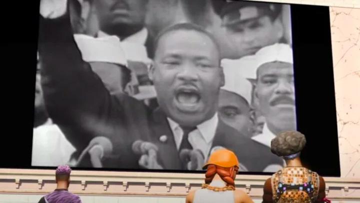 В игре Fortnite открыли виртуальный музей Мартина Лютера Кинга