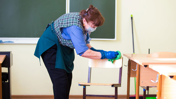 Санитарные правила в школах задержатся дольше, чем предполагалось