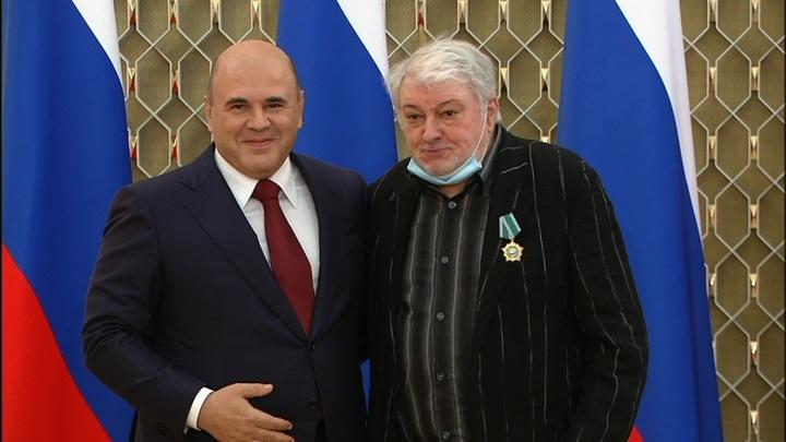 Мишустин вручил награды деятелям культуры и искусства