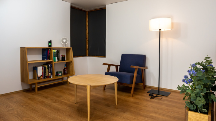 Так выглядит полностью оборудованная зарядная комната в Токийском университете.