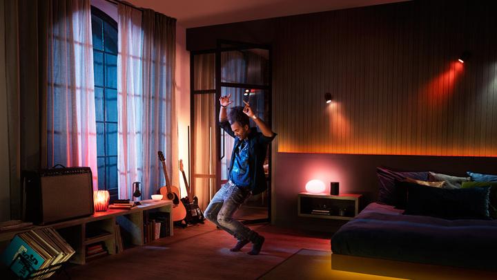 Philips Hue со Spotify плотно интегрировали освещение и музыку