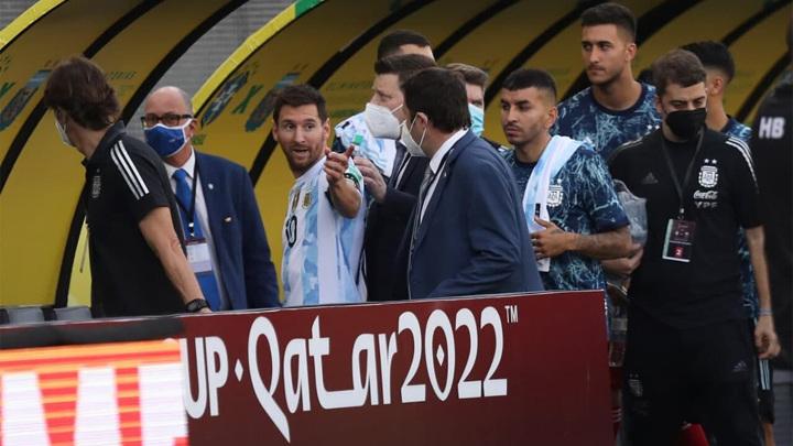 ФИФА открыла дисциплинарное дело по матчу сборных Бразилии и Аргентины