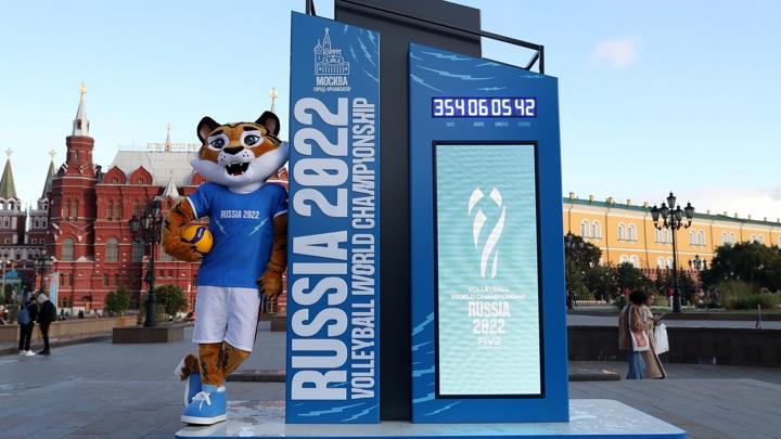 Тигр стал талисманом чемпионата мира по волейболу в России