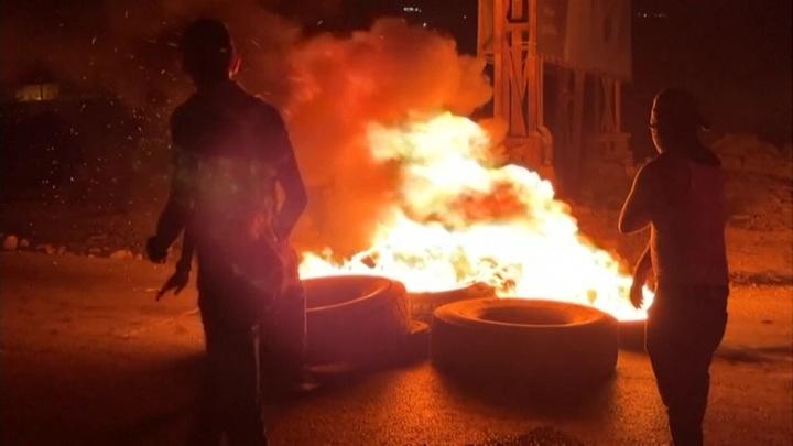В стычках на Западном берегу Иордана пострадали не менее 100 человек