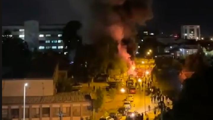 В Северной Македонии пациенты с коронавирусом погибли при пожаре