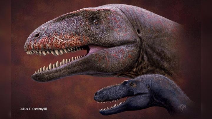 Художественная интерпретация внешнего вида Ulughbegsaurus uzbekistanensis.