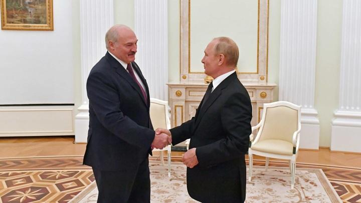 Переговоры президентов России и Белоруссии длились более 3 часов