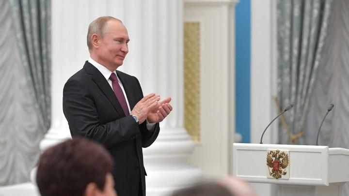 Путин наградил победителей Паралимпийских игр
